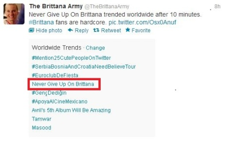 Brittana TT - 1.11.2013