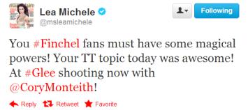 Lea Michele - TT 1.11.13