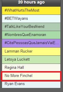 No More Finchel - 1.15.13