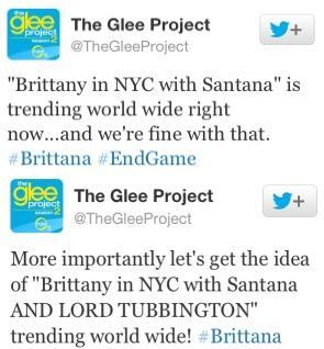 Glee Project - Brittana